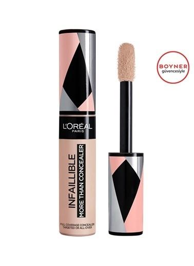 L'Oréal Paris L'Oréal Paris Infaillible Tüm Yüze Uygulanabilir Kapatıcı - 322 Ivory Renksiz